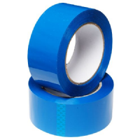 Blue Coloured Low Noise Polypropylene Packaging Tape 48mm x 66m